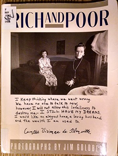 Rich and Poor: Photographs by Jim Goldberg: Photographer-Jim Goldberg