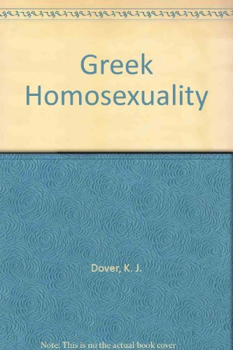 9780394742243: Greek Homosexuality