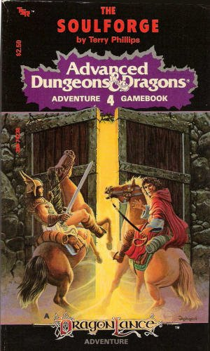 9780394742380: Advanced Dungeons and Dragons: Adventure Gamebook #04: The Soulforge