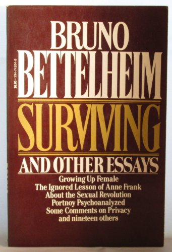 9780394742649: Surviving and Other Essays