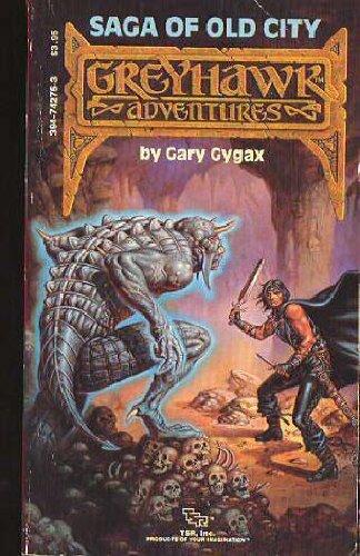 Dungeons and Dragons-Greyhawk Adventure Saga : Old: Gary Gygax
