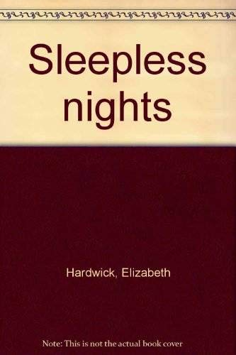 9780394743639: Sleepless nights