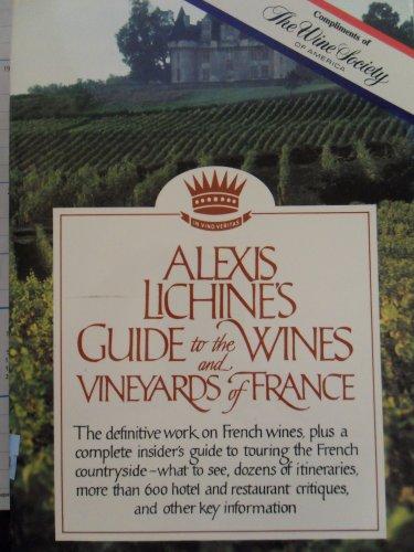 GD WINES&VINYRD FR3E: Lichine, Alexis