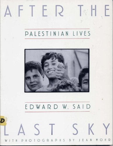 9780394744698: After the Last Sky: Palestinian Lives
