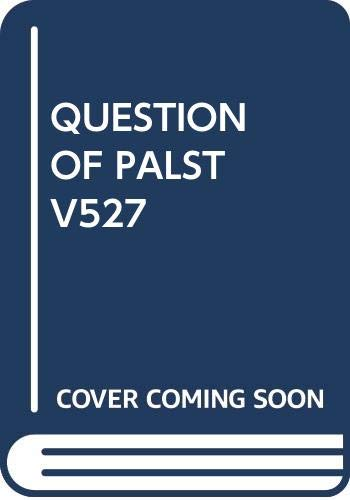 9780394745275: The Question of Palestine