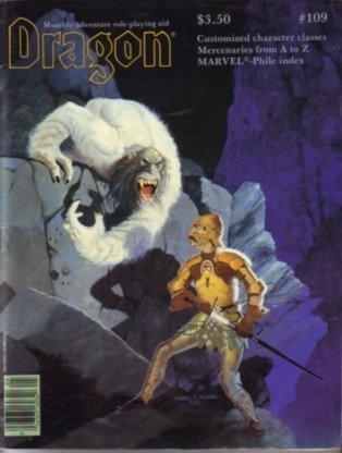 9780394745619: Dragon Magazine, No. 109