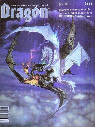9780394745633: Dragon Magazine, No. 111