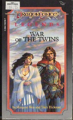 War of the Twins (Dragonlance Legends, Vol. 2) (9780394745787) by Margaret Weis; Tracy Hickman