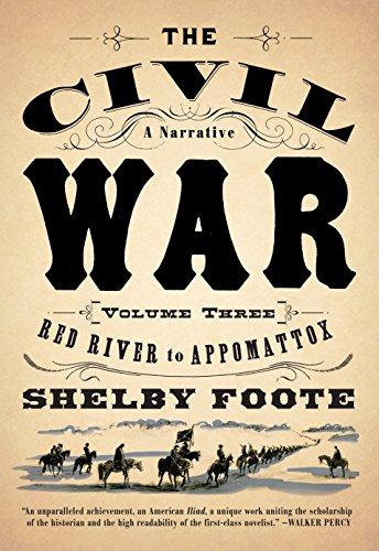 9780394746227: The Civil War: A Narrative: Volume 3: Red River to Appomattox (Vintage Civil War Library)
