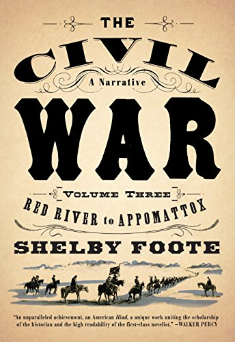 9780394746227: The Civil War: A Narrative: Volume 3: Red River to Appomattox (Vintage Civil War Library)