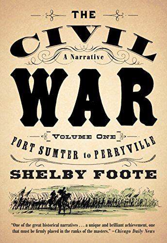 9780394746234: The Civil War: A Narrative: Volume 1: Fort Sumter to Perryville (Vintage Civil War Library)