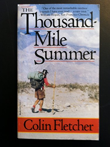 9780394746319: The Thousand-Mile Summer: In Desert and High Sierra
