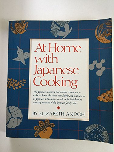 9780394746340: At Home With Japanese Cooking
