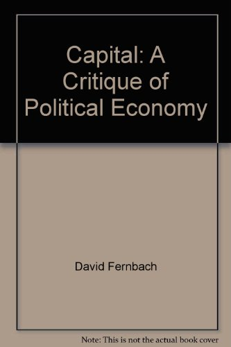 Capital: A Critique of Political Economy: David Fernbach