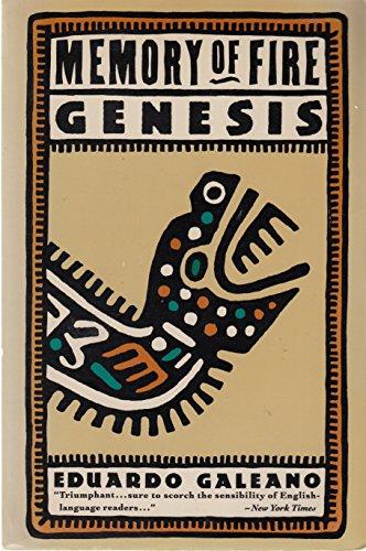9780394747309: Genesis (Memory of Fire Trilogy)