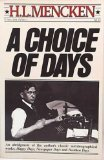 9780394747606: Choice of Days V760