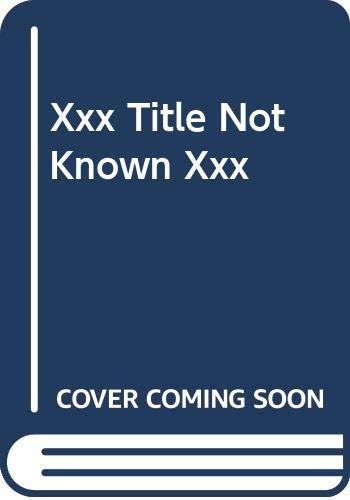 9780394749105: Xxx Title Not Known Xxx
