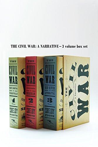 9780394749136: Civil War Volumes 1-3 Box Set
