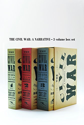 9780394749136: Civil War Volumes 1-3 Box Set