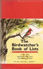 9780394751986: The Birdwatcher's Book of Lists: Lists for Recreation and Recordkeeping