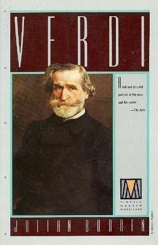 9780394752808: Verdi (Vintage Master Musicians)