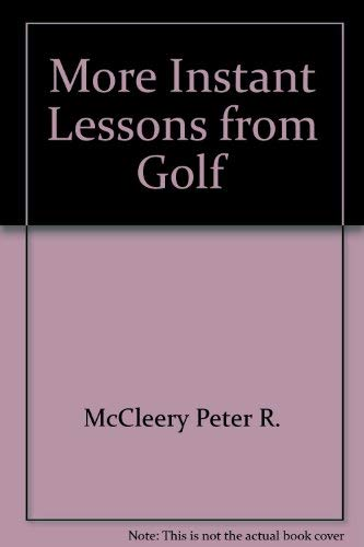 9780394754086: Title: More Instant Golf Lessons