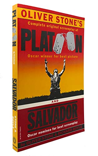 9780394756295: Oliver Stones Platoon and Salvador