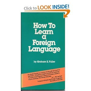 9780394756899: How to Learn a Foreign Language