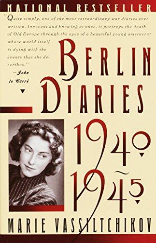9780394757773: Berlin Diaries, 1940-1945