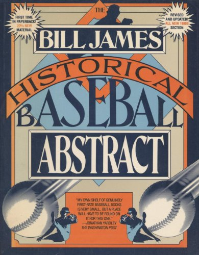 Bill James Historical Baseball Abstract: James, Bill