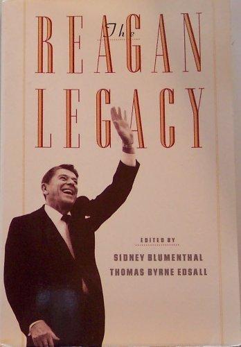 9780394759708: The Reagan Legacy
