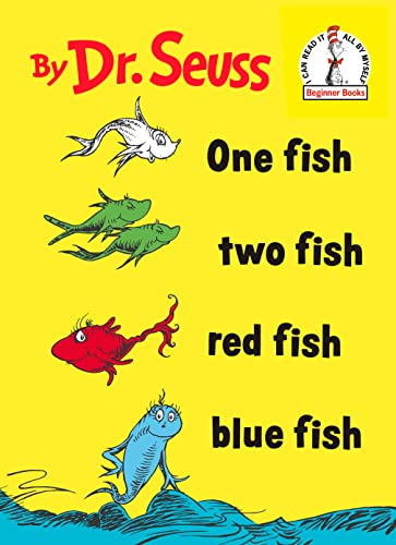 9780394800134: One Fish Two Fish Red Fish Blue Fish (I can read it all by myself beginner books)