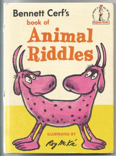 9780394800349: Bennett Cerf's Book of Animal Riddles (I Can Read It All by Myself Beginner Books)