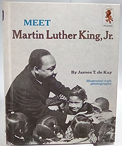 9780394800554: Meet Martin L. King, Jr.