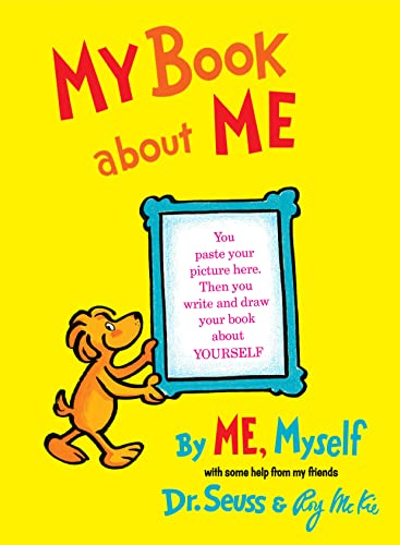 9780394800936: My Book about Me: By Me, Myself (I Can Read It All by Myself Beginner Books)