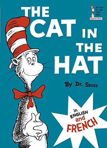 9780394801711: The Cat in the Hat in English and French