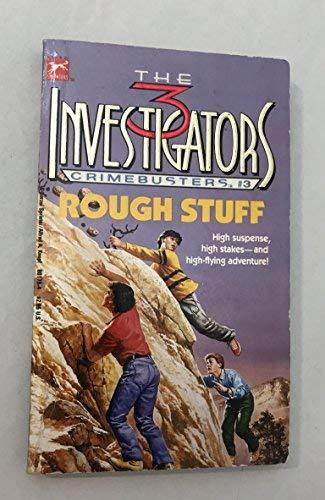 9780394801780: ROUGH STUFF (Three Investigators Crimebuster, Book 3)