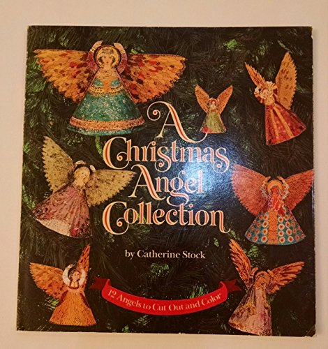 9780394802664: A Christmas Angel Collection: 12 Angels to Cut out and Color