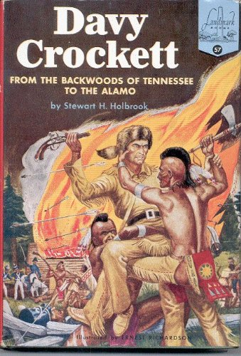 9780394803579: Davy Crockett (Landmark Books)