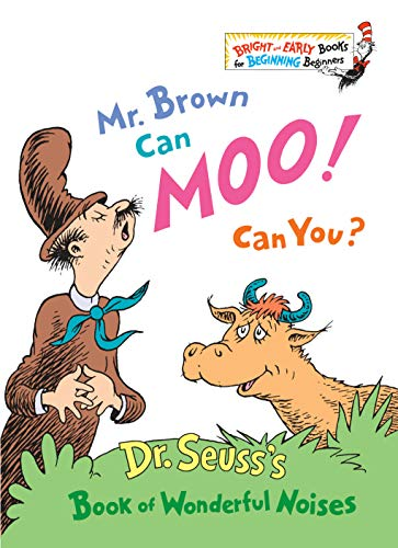 9780394806228: Mr. Brown Can Moo! Can You? (Bright & Early Book)