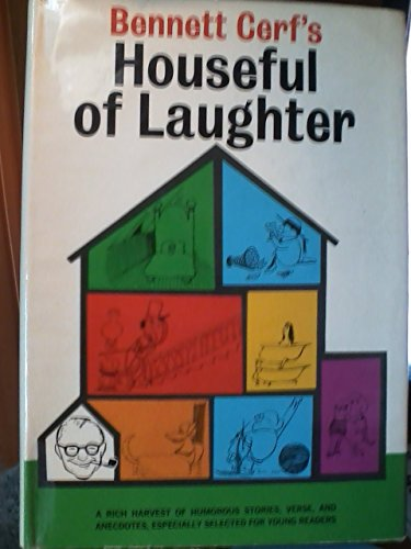 Houseful of laughter (0394809564) by Bennett Cerf