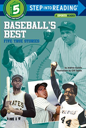9780394809830: Baseball's Best: Five True Stories (Step into Reading)