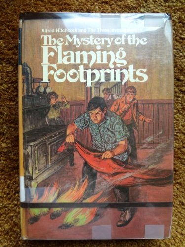 9780394822969: Alfred Hitchcock and the Three Investigators in The Mystery of the Flaming Footprints