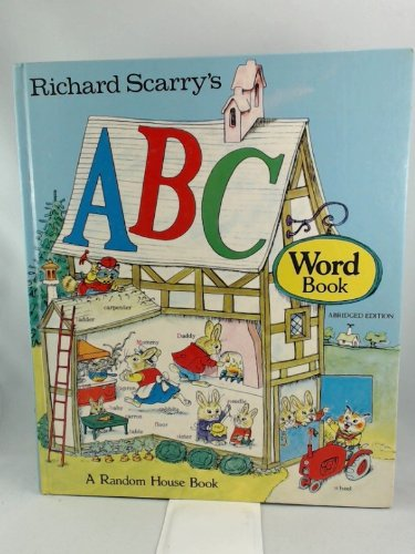 9780394823393: Richard Scarry's ABC Word Book