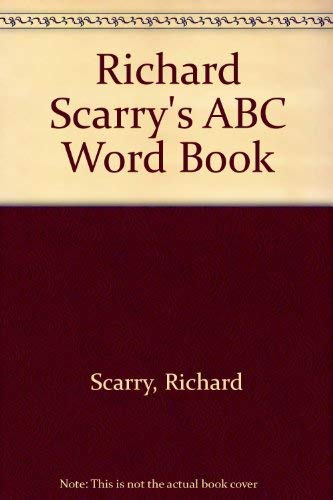 9780394823393: ABC Word Book