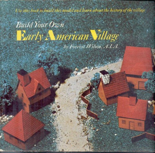 9780394824123: Build your own early American village