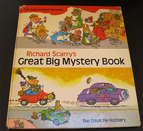 9780394824314: Richard Scarry's Great Big Mystery Book