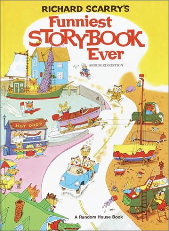 9780394824321: Richard Scarry's Funniest Storybook Ever!