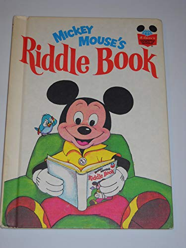 9780394825212: Mickey Mouse's Riddle Book (Disney's Wonderful World of Reading, Vol. 3)