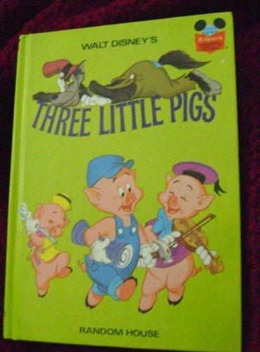 9780394825229: THE THREE LITTLE PIGS (Disney's Wonderful World of Reading)